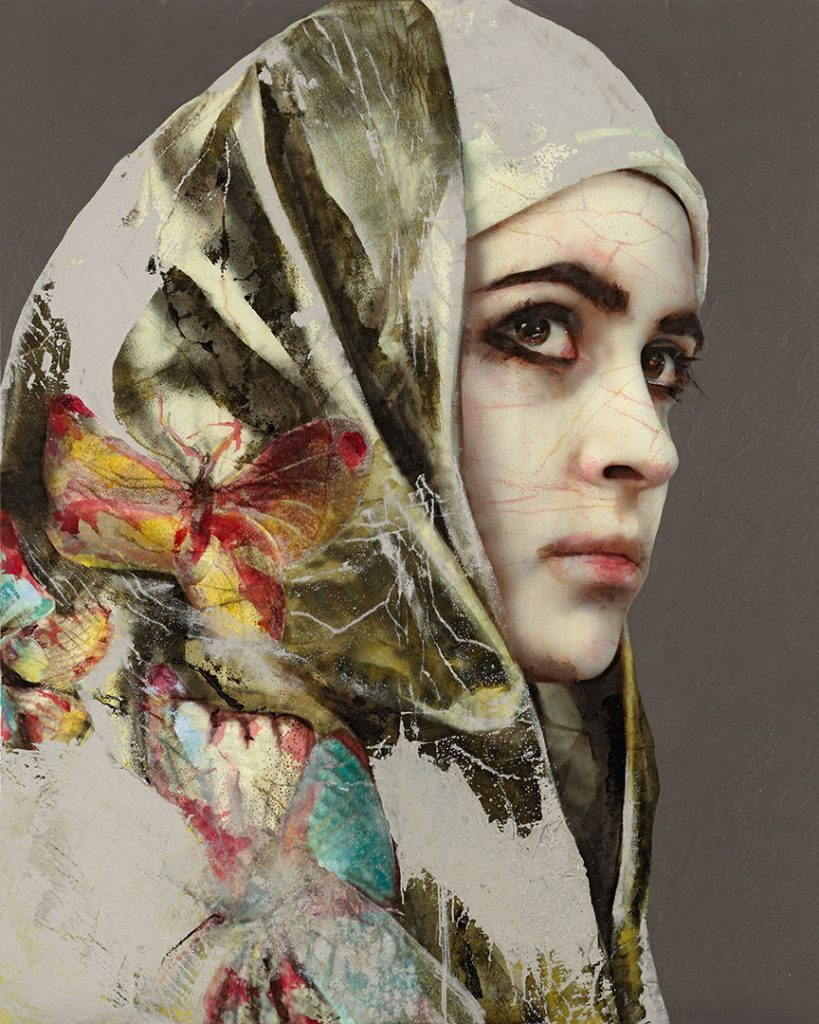 Lita Cabellut, Secret behind the veil