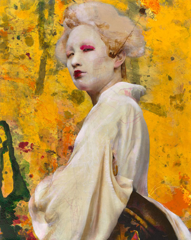 Lita Cabellut. Dried Tear 52 250 x 200 cm