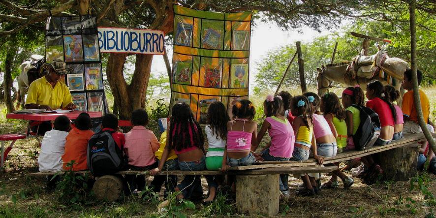 Luis Soriano y su proyecto Biblioburro en el Magdalena
