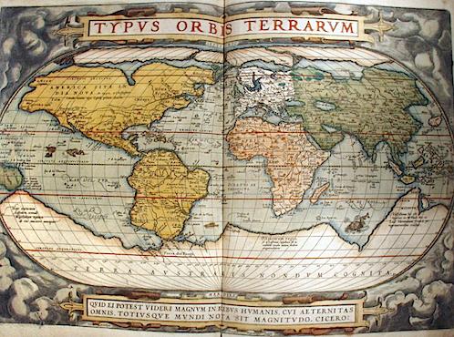 Abraham Ortelius, Theatrum Orbis Terrarum, Antuerpiae, 1572